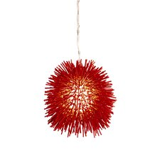 Urchin Mini Pendant in Super Red