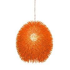 Urchin Pendant in Electric Pumpkin