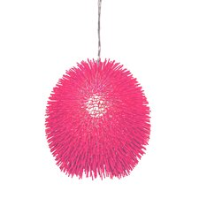 Urchin Pendant in Hot Pink