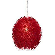 Urchin Pendant in Super Red