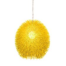 Urchin Pendant in Un-Mellow Yellow