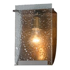 Rain 1 Light Recycled Vanity Light