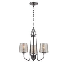 Meridian 3 Light Mini Chandelier
