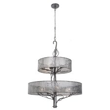Treefold 9 Light Drum Chandelier