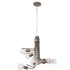 Socket-To-Me 6 Light Chandelier