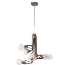 Socket-To-Me 6 Light Chandelier