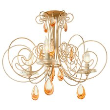Elysse 3 Light Semi Flush Mount
