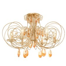 Elysse 6 Light Semi Flush Mount