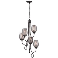 Emma 5 Light Mini Chandelier