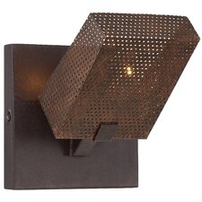 Gold Rush 1 Light Wall Sconce
