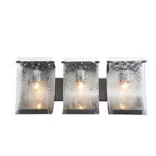 Recycled Rain Bath Light - Three Light in Rainy Night