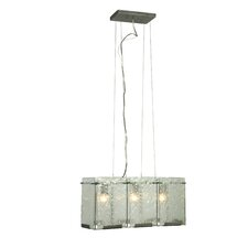 Recycled Rain 3 Light Pendant