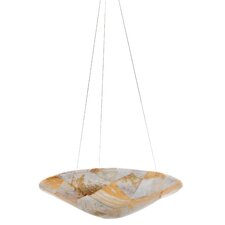 Sustainable Shell Big Pendant - Three Light with Kabebe