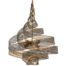 Flow 6 Light Foyer Pendant