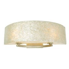 Radius Crushed Capiz 2 Light Bath Vanity Light