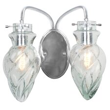 Vintage 2 Light Bath Vanity Light