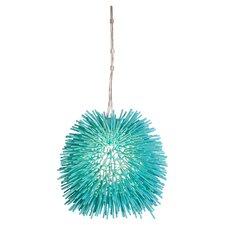 Urchin 1 Light Foyer Globe Pendant
