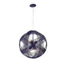 At-Mesh-Sphere 6 Light Foyer Pendant
