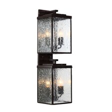 Mission You 4 Light Wall Lantern