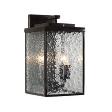 Mission You 2 Light Wall Lantern