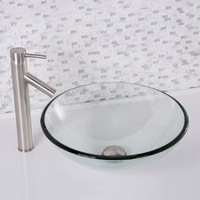 Glass Vessel Bathroom Sink