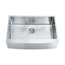"33"" x 22.25"" Single Bowl 16 Gauge Farmhouse Kitchen Sink"