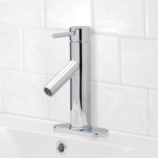Alicia Single Lever Basin Bathroom Faucet with Deck Plate