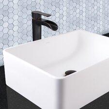 Niko Single Lever Vessel Bathroom Faucet with Pop Up