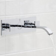 Titus Wall Mount Bathroom Faucet with Pop Up
