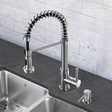 Edison Single Handle Pull-Down Spray Kitchen Faucet