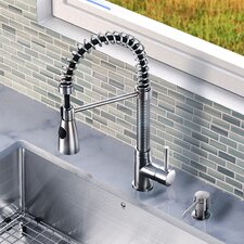 Brant Single Handle Pull-Down Spray Kitchen Faucet