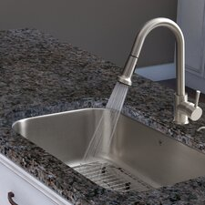 Harrison Single Handle Pull-Down Spray Kitchen Faucet