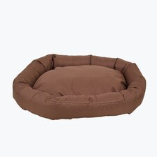 Brutus Tuff Comfy Cup Bolster Dog Bed