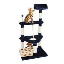 "46"" Tiger Tough Triangle Tower Cat Tree"