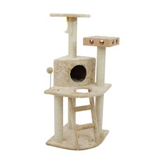 "47"" Tiger Tough Deluxe Clubhouse Cat Tree"
