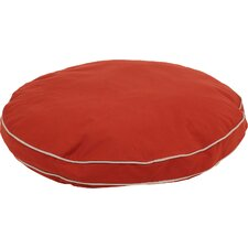 Twill Classic Round Dog Pillow