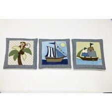 Ahoy Mate! 3 Piece Wall Hanging Set
