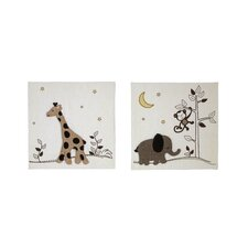 Dreamy 2 Piece Night Canvas Art Set