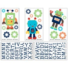 Baby Bot Wall Decal (Set of 5)