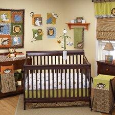 Zambia 4 Piece Crib Bedding Set