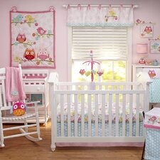 Love Bird 4 Piece Crib Bedding Set