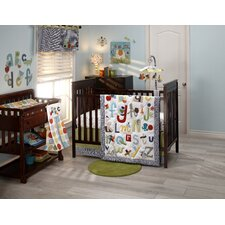 ABC with Me 4 Piece Crib Bedding Set