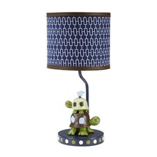 "Alligator Blues 17"" H Table Lamp"