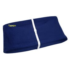 Alligator Blues Contoured Changing Table Cover