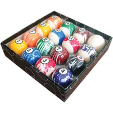 Action Billiard Balls 16 Piece White Marble Ball Set