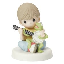 """""""Music Is What Friendship Sounds Like"""" Figurine"""