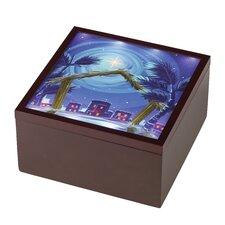 """Heirloom Nativity Set Deluxe"" Music Box"