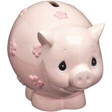 Piggy Bank, Ceramic Figurine