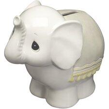"""Elephant Bank"" Ceramic Figurine"