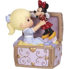 """""""Toy Chest Musical"""" Resin Music Box Figurine"""